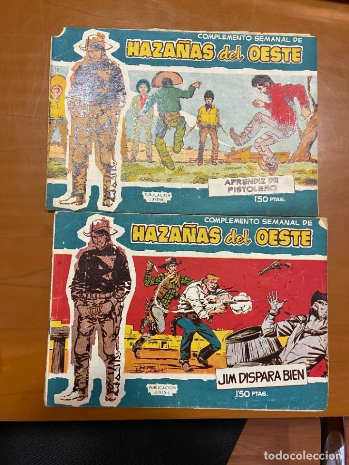 HAZAÑAS DEL OESTE SERIE AZUL Nº13 Y 20 ULTIMO DE LA COLECCION SE VENDEN SUELTOS (Tebeos y Comics - Tebeos Colecciones y Lotes Avanzados)