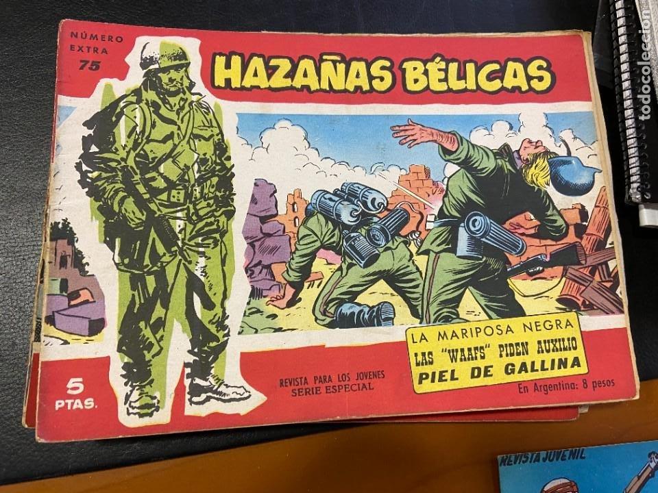 HAZAÑAS BELICAS SERIE ROJA Nº 23-24-25-35-41-43-53-55-56-57-59-66-70-71 Y 75 SE VENDEN SUELTOS (Tebeos y Comics - Tebeos Colecciones y Lotes Avanzados)