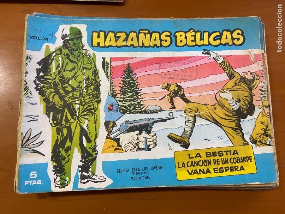HAZAÑAS BELICAS SERIE AZUL Nº 2-30-74-100-112-114-118-126 Y 136 SE VENDEN SUELTOS (Tebeos y Comics - Tebeos Colecciones y Lotes Avanzados)