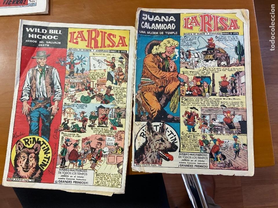 LA RISA Nº 220 Y 226 EL 220 LLEVA SUPLEMENTO FRENTE AL PASADO SE VENDEN SUELTOS (Tebeos y Comics - Tebeos Colecciones y Lotes Avanzados)