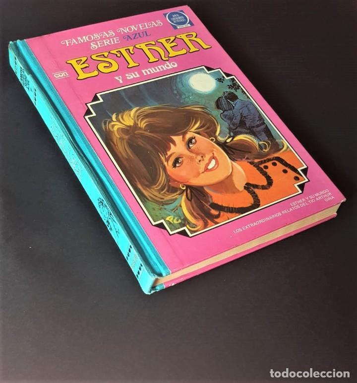 FAMOSAS NOVELAS SERIE AZUL ESTHER -TOMO 7- 1ª EDICIÓN, BRUGUERA (1983) - VER FOTOS Y DESCRIPCIÓN (Tebeos y Comics - Tebeos Colecciones y Lotes Avanzados)