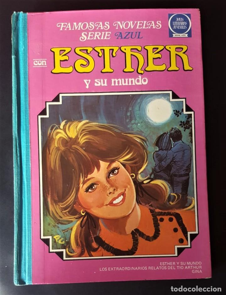 Tebeos: FAMOSAS NOVELAS SERIE AZUL ESTHER -TOMO 7- 1ª EDICIÓN, BRUGUERA (1983) - VER FOTOS Y DESCRIPCIÓN - Foto 2 - 159837878