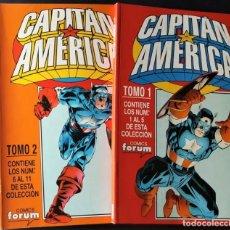 Giornalini: DE TIENDA - STEVE ROGERS: CAPITAN AMERICA, VOL.3 - COLECCIÓN COMPLETA EN 2 RETAPADOS - FORUM (1995). Lote 240790665