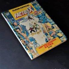 Tebeos: ALBUM ESPECIAL FACTOR-X CON LOS ESPECIALES DE PRIMAVERA, VERANO E INVIERNO DE 1989 - BUEN ESTADO. Lote 263058970
