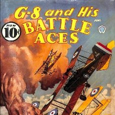 Tebeos: G-8 AND HIS BATTLES ACES - EN INGLES. Lote 223344288