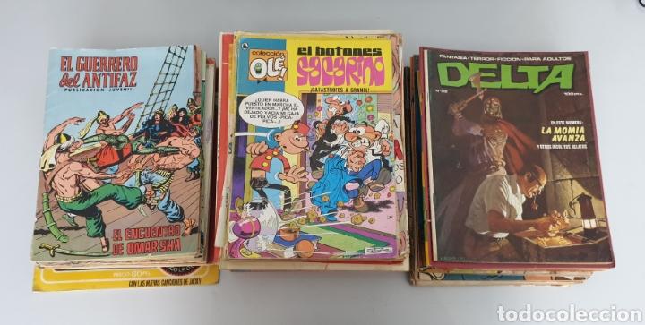 ESTUPENDO LOTE DE 84 TEBEOS ANTIGUOS VARIADOS AÑOS 60/80 (Tebeos y Comics - Tebeos Colecciones y Lotes Avanzados)