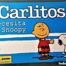Tebeos: CARLITOS NECESITA A SNOOPY, Nº 31 - EDICIONES JUNIOR. Lote 265129729