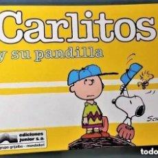 Tebeos: CARLITOS Y SU PANDILLA Nº 6 - EDICIONES JUNIOR. Lote 265130269