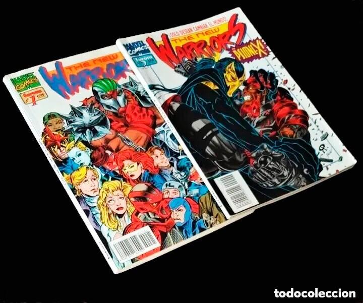 BUEN ESTADO - THE NEW WARRIORS VOL.2, TOMOS 1 Y 2 - FORUM (1995) - VER FOTOS Y DESCRIPCIÓN (Tebeos y Comics - Tebeos Colecciones y Lotes Avanzados)