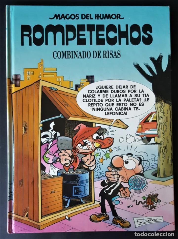 Tebeos: LOTE DE 55 TOMOS DE MAGOS DEL HUMOR (EXCELENTE ESTADO) - VER FOTOS Y NÚMEROS (SUELTOS PREGUNTAR) - Foto 37 - 182828472