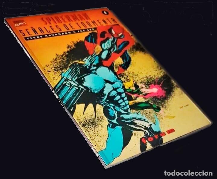 PRESTIGIO VOL II - SPIDERMAN: SEÑALES DE TORMENTA -FORUM(1995, 72 PG)-RUSTICA CON SOLAPAS- DE TIENDA (Tebeos y Comics - Tebeos Colecciones y Lotes Avanzados)