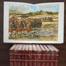 BDs: HISTORIA UNIVERSAL EN CÓMIC - COLECCIÓN COMPLETA 12 TOMOS -ENCUADERNACIÓN DE LUJO. Lote 286657363