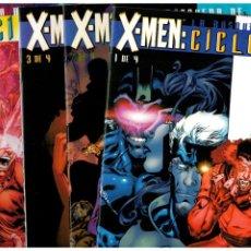 Livros de Banda Desenhada: X-MEN: LA BÚSQUEDA DE CÍCLOPE. - COMPLETA 4 NÚMEROS 1 AL 4 - FORUM. MUY BUENOS.. Lote 267708579