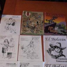 Livros de Banda Desenhada: LOTE 32 REVISTAS TEORIA DEL CÓMIC Y TEBEO ESPAÑOL. Lote 267893479