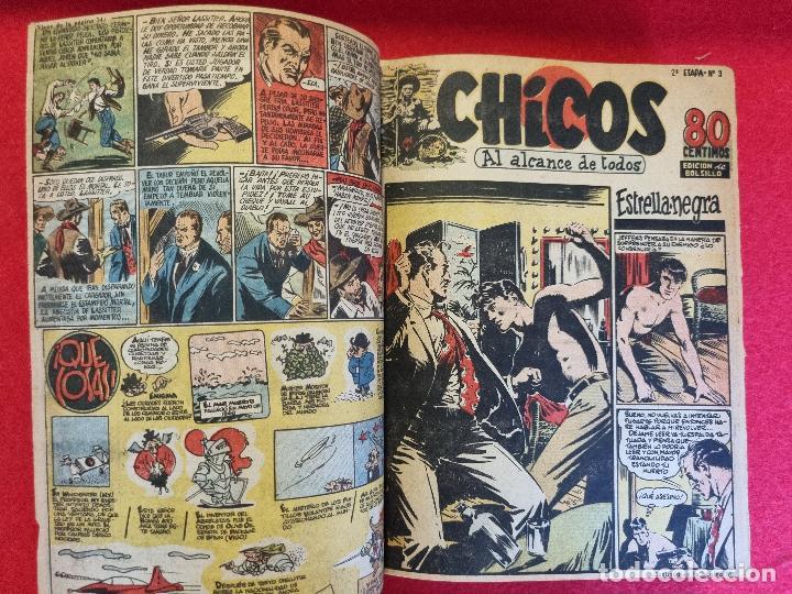 Tebeos: COLECCION CHICOS SEGUNDA 2ª ETAPA COMPLETA 70 NUMEROS EDICION BOLSILLO CONSUELO GIL ORIGINALES - Foto 4 - 268074119