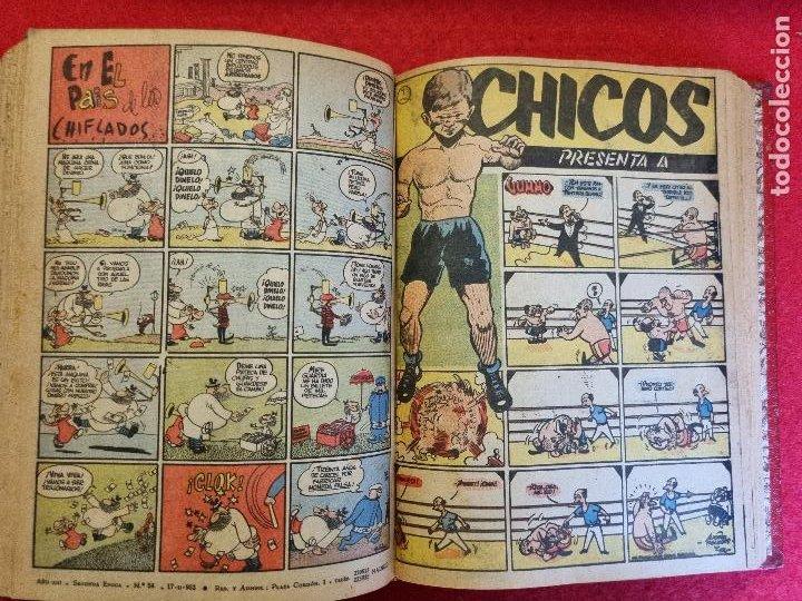 Tebeos: COLECCION CHICOS SEGUNDA 2ª ETAPA COMPLETA 70 NUMEROS EDICION BOLSILLO CONSUELO GIL ORIGINALES - Foto 57 - 268074119