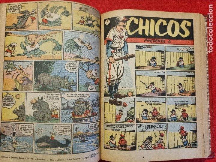 Tebeos: COLECCION CHICOS SEGUNDA 2ª ETAPA COMPLETA 70 NUMEROS EDICION BOLSILLO CONSUELO GIL ORIGINALES - Foto 59 - 268074119