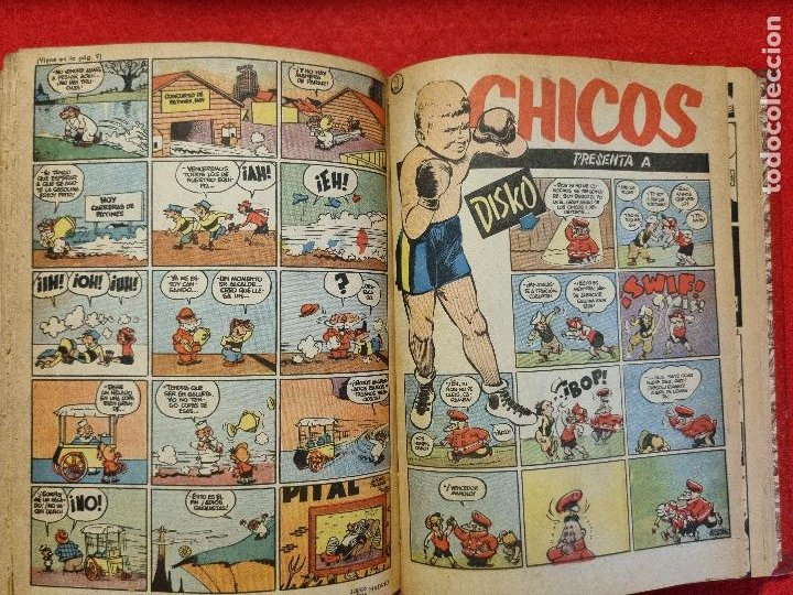 Tebeos: COLECCION CHICOS SEGUNDA 2ª ETAPA COMPLETA 70 NUMEROS EDICION BOLSILLO CONSUELO GIL ORIGINALES - Foto 61 - 268074119