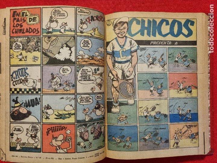 Tebeos: COLECCION CHICOS SEGUNDA 2ª ETAPA COMPLETA 70 NUMEROS EDICION BOLSILLO CONSUELO GIL ORIGINALES - Foto 62 - 268074119