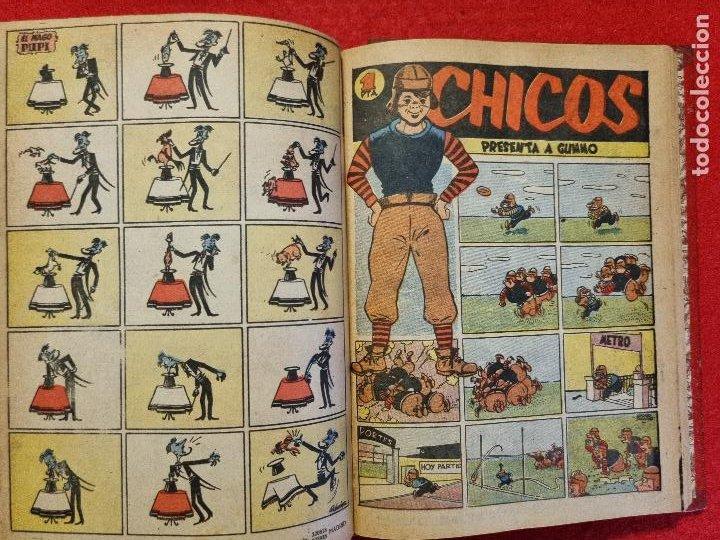 Tebeos: COLECCION CHICOS SEGUNDA 2ª ETAPA COMPLETA 70 NUMEROS EDICION BOLSILLO CONSUELO GIL ORIGINALES - Foto 63 - 268074119