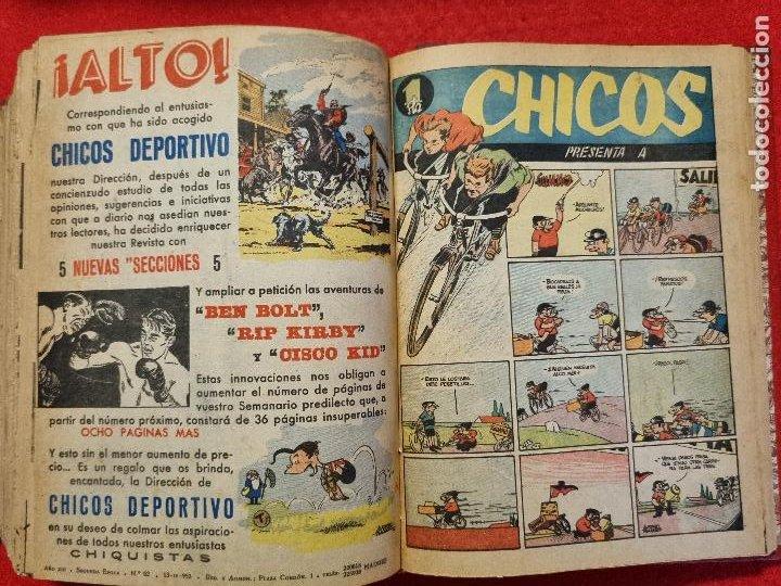 Tebeos: COLECCION CHICOS SEGUNDA 2ª ETAPA COMPLETA 70 NUMEROS EDICION BOLSILLO CONSUELO GIL ORIGINALES - Foto 65 - 268074119