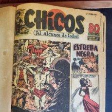 Tebeos: COLECCION CHICOS SEGUNDA 2ª ETAPA COMPLETA 70 NUMEROS EDICION BOLSILLO CONSUELO GIL ORIGINALES. Lote 268074119