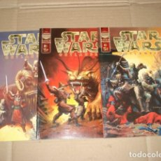 Tebeos: STAR WARS: OUTLANDER, 2000, COMPLETA, 3 NÚMEROS, PLANETA DEAGOSTINI, MUY BUEN ESTADO. Lote 268887089