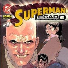 Tebeos: SUPERMAN, LEGADO 2. Lote 162732213