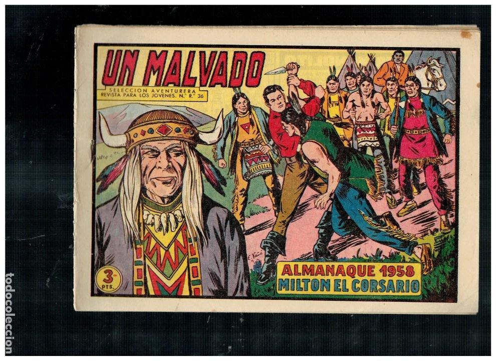 MILTON EL CORSARIO.PEQUEÑO LOTE DE 13 NÚMEROS ENTRE EL 39 Y 53. VALENCIANA.ORIGINALES. (Tebeos y Comics - Tebeos Pequeños Lotes de Conjunto)