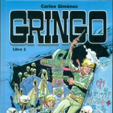 Giornalini: GRINGO LIBROS 1 Y 2 DE CARLOS JIMENEZ. PUBLICADA POR GLENAT.. Lote 274429918