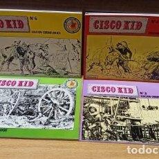 Tebeos: CISCO KID - 7 COMICS - EDICIONES ESEUVE. ART COMICS HEROES DE SIEMPRE - DE KIOSKO. Lote 274596303