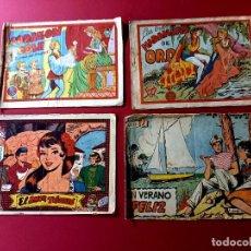 Giornalini: LOTE DE 4 TEBEOS DE ANTIGUAS COLECCIONES. Lote 274850668