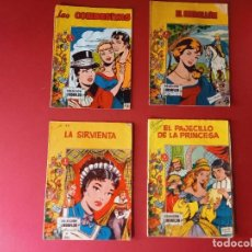 Tebeos: LOTE DE 4 TEBEOS DE ANTIGUAS COLECCIONES. Lote 274855128