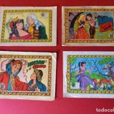 BDs: LOTE DE 4 TEBEOS DE ANTIGUAS COLECCIONES. Lote 274855353