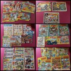Giornalini: LOTE DE 170 TEBEOS -ORIGINALES -VER FOTOS Y DESCRIPCION-. Lote 275568863
