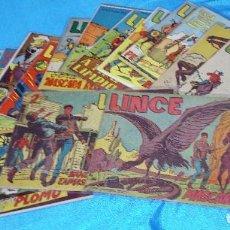 Tebeos: LINCE GEMEX 1962 LOTE DE 23 ORIGINALES BUEN ESTADO - IMPORTANTE LEER DESCRIPCION ENVIO. Lote 275615993