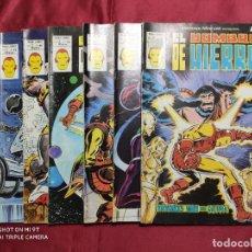 Tebeos: EL HOMBRE DE HIERRO. HEROES MARVEL. VOL. 2. 7 EJEMPLARES DEL 61 AL 67. VERTICE. Lote 275969648