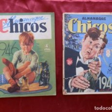 Giornalini: 2 ALMANAQUES CHICOS 1946 Y 1947. Lote 276561933