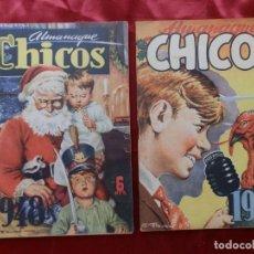 Giornalini: 2 ALMANAQUES CHICOS 1948 Y 1948. Lote 276562183