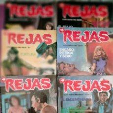 Tebeos: LOTE TEBEOS EROTICO REJAS 6 TEBEOS N 41-9-45-40-53-39. Lote 276682568