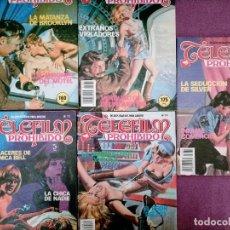 Tebeos: LOTE TEBEOS EROTICO TELEFILM PROHIBIDO 4 TEBEOS N 71-70-74-82-73. Lote 276695378