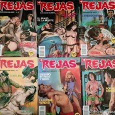 Tebeos: LOTE DE TEBEOS EROTICO REJAS 6 TEBEOS N 44-32-48-46-43-42-. Lote 276697833