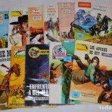 Tebeos: 11 EJEMPLARES/COMICS / SHERIFF, SENDAS SALVAJES Y OTROS - DIFERENTES EDITORIALES - ¡MIRA! LOTE 01. Lote 277073718