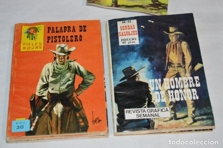 Tebeos: 11 Ejemplares/Comics / SHERIFF, SENDAS SALVAJES y otros - Diferentes editoriales - ¡MIRA! Lote 02 - Foto 5 - 277076798