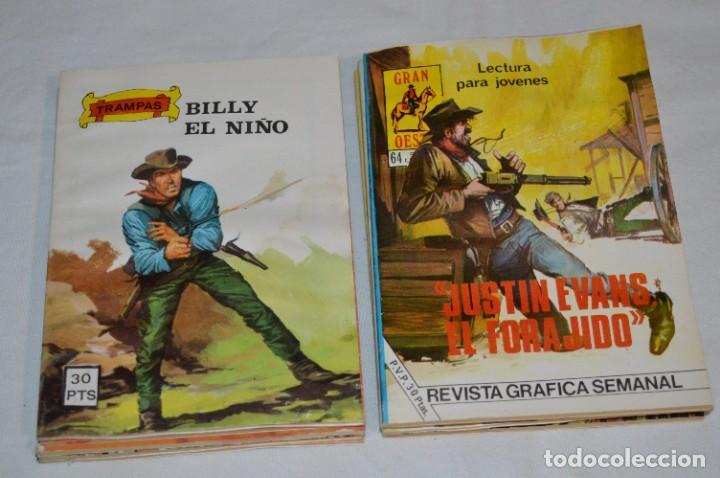 Tebeos: 11 Ejemplares/Comics / SHERIFF, SENDAS SALVAJES y otros - Diferentes editoriales - ¡MIRA! Lote 02 - Foto 6 - 277076798