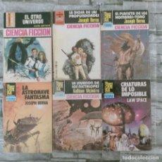 Tebeos: LOTE CINCIA FINCION BOLSILLO 6 TOMOS. Lote 277466508