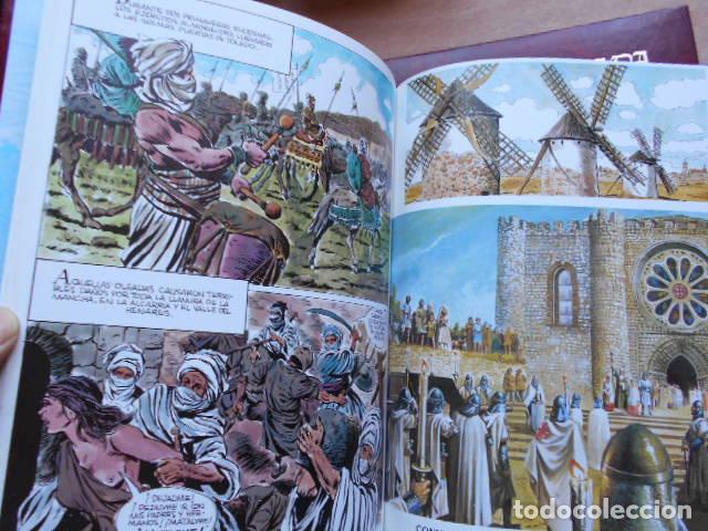 Tebeos: HISTORIA ILUSTRADA DE CASTILLA LA MANCHA 6 TOMOS COMPLETA - Foto 4 - 277717223