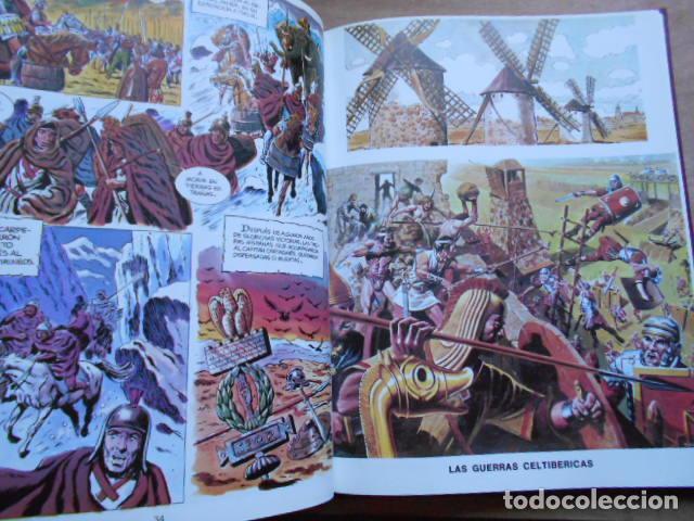 Tebeos: HISTORIA ILUSTRADA DE CASTILLA LA MANCHA 6 TOMOS COMPLETA - Foto 5 - 277717223