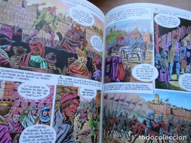 Tebeos: HISTORIA ILUSTRADA DE CASTILLA LA MANCHA 6 TOMOS COMPLETA - Foto 8 - 277717223