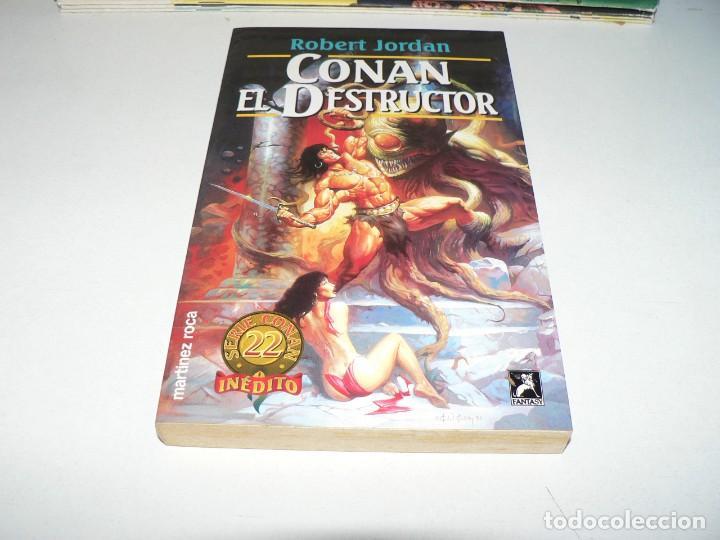 CONAN EL DESTRUCTOR (Tebeos y Comics - Tebeos Colecciones y Lotes Avanzados)
